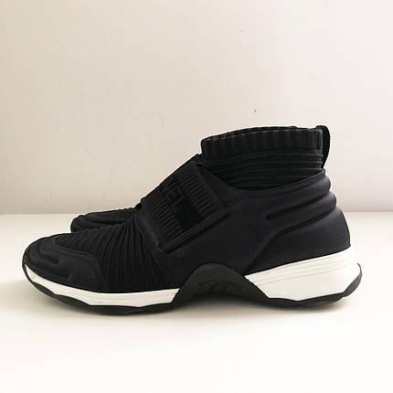 Женские Сhanel stretch sneakers black, фото 2