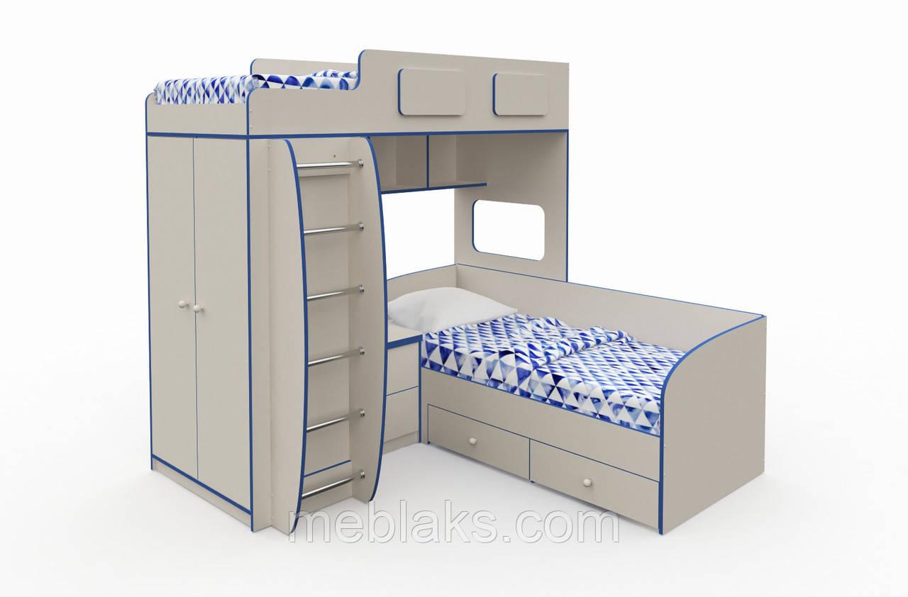 Двухъярусная кровать «Баффи»