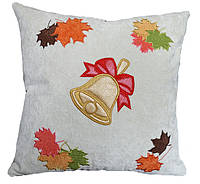 Сувенирная декоративная подушка  с вышивкой, фото 1