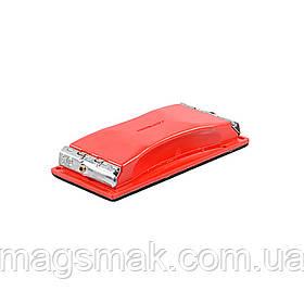Блок шлифовальный (металлические зажимы) 100х210мм Sigma 9110021