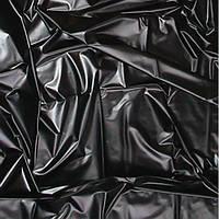 Черная латексная простынь Sheet in Latex SexMax WetGames 180X220