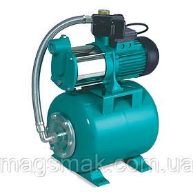Станция водоснабжения 0.6кВт Hmax 35м Qmax 100л/мин (многоступ. насос) 24л LEO (776411)