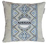 Сувенирная декоративная подушка - вышиванка Украина, фото 3