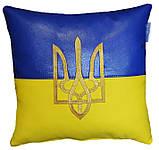 Сувенірна декоративна подушка - вишиванка Україна, фото 5