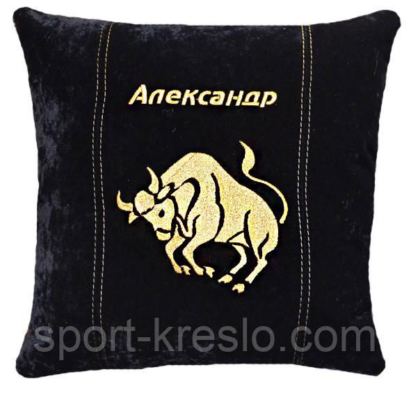 Сувенірна декоративна подушка знаки зодіаку