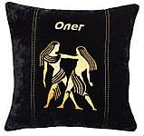 Сувенирная декоративная подушка знаки зодиака, фото 4