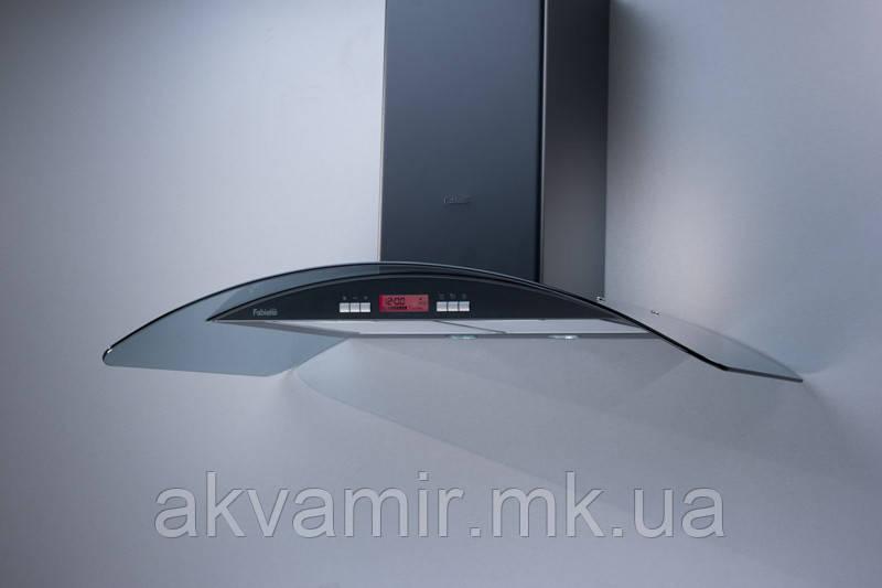 Вытяжка для кухни Fabiano Arco-A 60 Black LCD (черная) декоративная