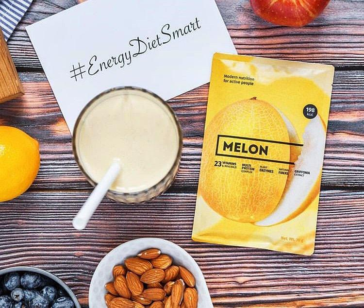 Энерджи Диет Смарт Energy Diet Smart Дыня Белковый коктейль для похудения поштучно