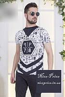 Стильная мужская футболка 46,48,50,52