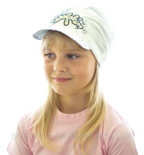Кепка летняя для девочки. Артикул D 13
