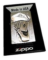 Зажигалка Zippo 29396 Full House Emblem, фото 2