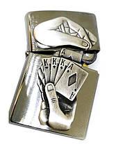 Зажигалка Zippo 29396 Full House Emblem, фото 3