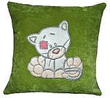Подушка детская с вышивкой, фото 2