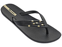 Женские летние вьетнамки Ipanema Premium Sunset Thong Black/Black 82310-20766