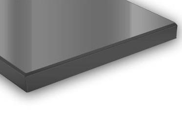 Стекло сатиновое графит толщина 4-6 мм в прирезке