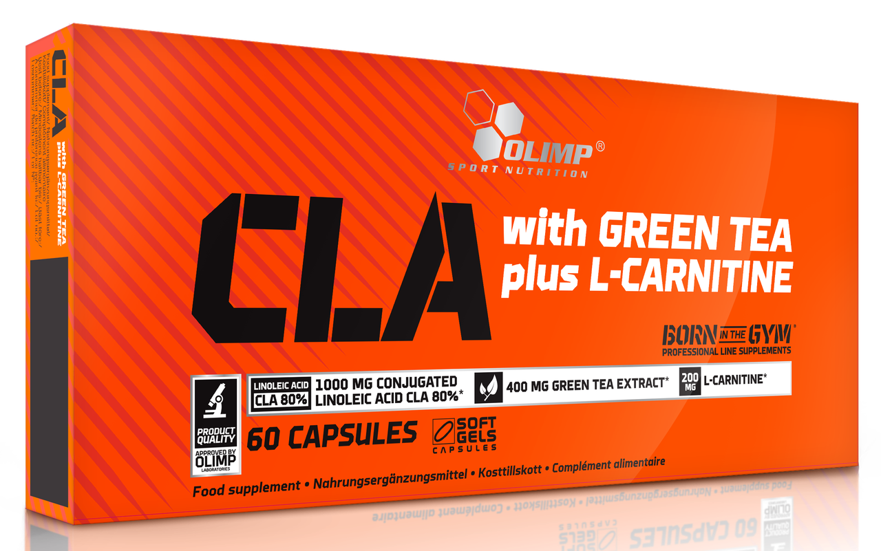 Olimp Sport CLA with Green Tea plus L-carnitine 60 softgels caps
