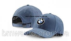 Бейсболка BMW Cap Logo Steel Blue