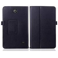 Черный чехол для Samsung Galaxy Tab 4 8 (T330) из синтетической кожи