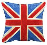 Подушка сувенірна декоративна з вишивкою корони, фото 4