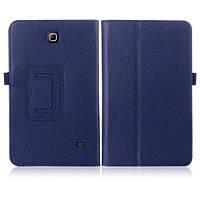 Синий чехол для Samsung Galaxy Tab 4 8 (T330) из синтетической кожи