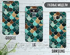 Силиконовый чехол для Samsung G570 Galaxy J5 Prime (Цветные плитки), фото 3