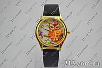 Женские кварцевые часы с совой, фото 1