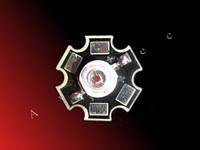 3W 650-660nm фитодиоды красные, высокое качество!