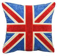 Подушка сувенрная Британия с вышивкой