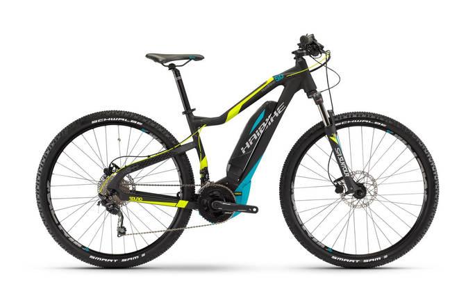 Велосипед Haibike SDURO HardNine 5.0 400Wh 2017, рама 45см, черный, фото 2