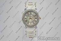 Женские часы на силиконовом ремешке Chopard white белые, фото 1