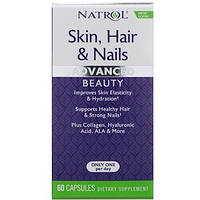 Natrol, Кожа, волосы и ногти, небывалая красота, 60 капсул, фото 1