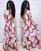 Платье Размер : 42-44, 46-48 Ткань:софт. (15414) 42/44