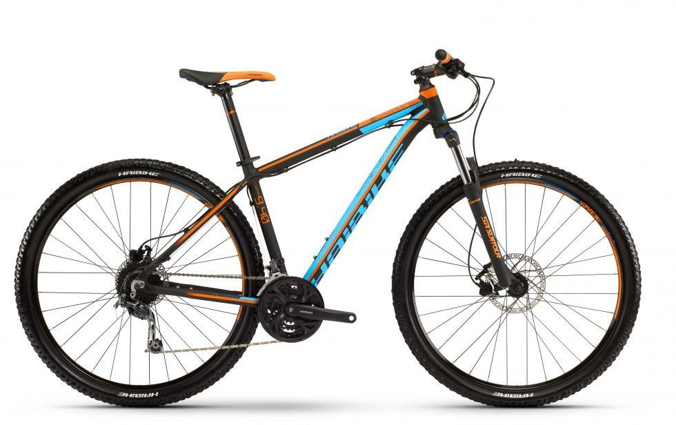 "Велосипед Haibike Big Curve 9.40 29"", рама 50см, оранжевый 2016"