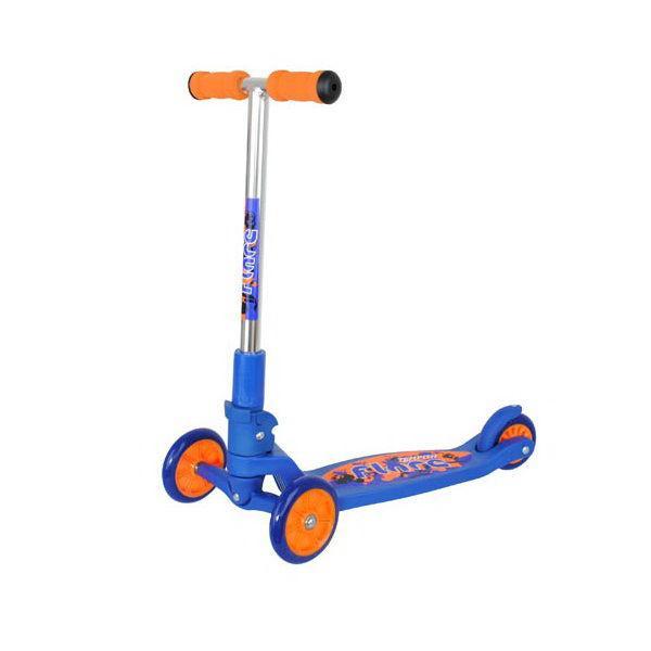 Самокат детский, трехколесный Tempish FLARE, сине-оранжевый