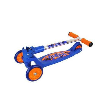 Самокат детский, трехколесный Tempish FLARE, сине-оранжевый, фото 2