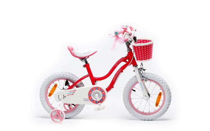 """Велосипед детский RoyalBaby STAR GIRL 14"""", розовый, фото 2"""