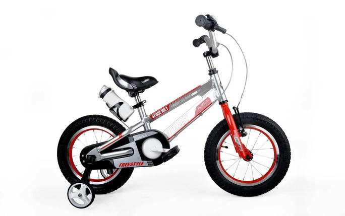 "Велосипед детский RoyalBaby SPACE NO.1 Alu 16"", серебристый, фото 2"
