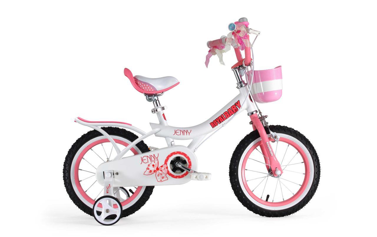 """Велосипед детский RoyalBaby JENNY GIRLS 16"""", розовый"""