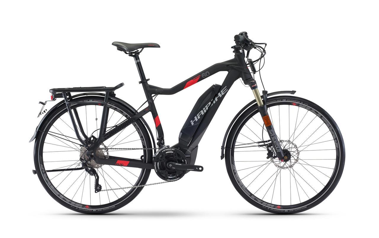 Велосипед Haibike SDURO Trekking S 6.0 500Wh 45км/ч 2017, рама 52см