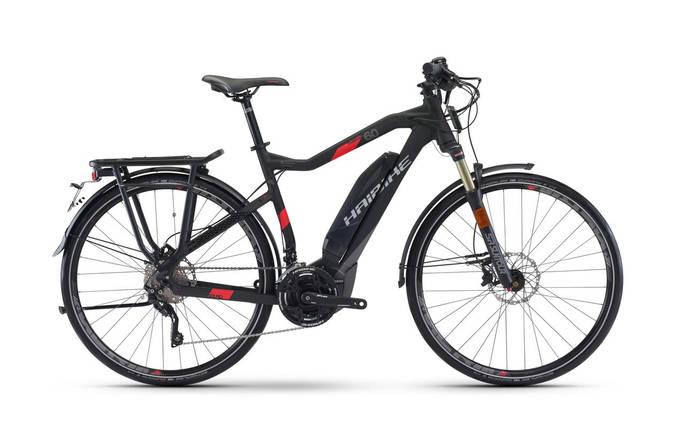 Велосипед Haibike SDURO Trekking S 6.0 500Wh 45км/ч 2017, рама 52см, фото 2