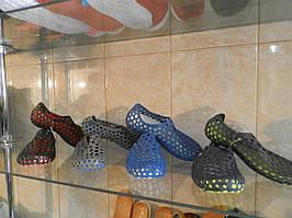 Кроксы crocs, подростковые тапочки 30-35рр.