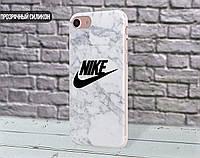 Силиконовый чехол для Apple Iphone 6_6s (Nike Marble)