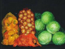 Сетка овощная в разном цвете (красная, зеленая, фиолетовая, бордовая и др.) , фото 3