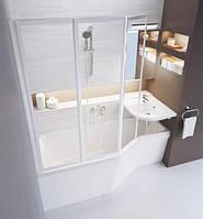 Акриловая асимметричная ванна Ravak BeHappy 1600x750 мм, левая
