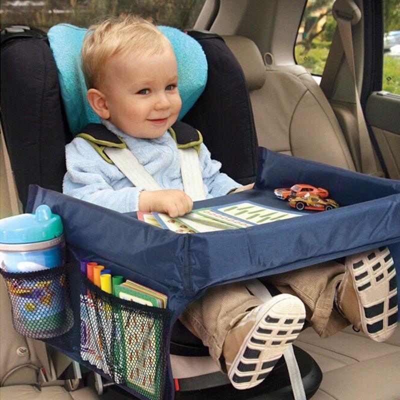 Детский автомобильный столик Play n Snack Tray