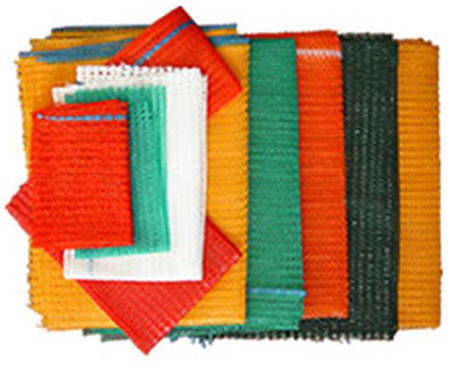 Овощная сетка оранжевая, зеленая, красная, синяя, желтая, белая, фото 2