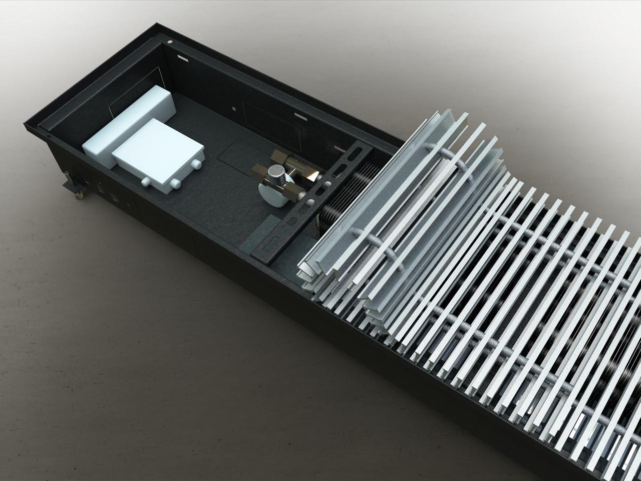 Конвектор с принудительной конвекцией Venttherm INTCON 110 мм., 200 мм., 2450 мм.