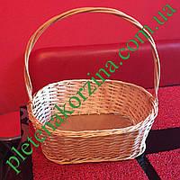Плетеная Корзинка для подарков оптом от производителя Арт.290