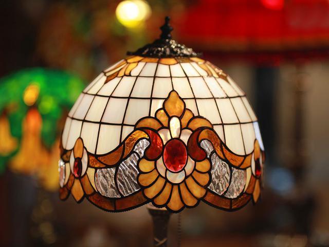 Лампа Тиффани ручной работы