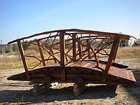 Мостик деревянный со сруба 3м